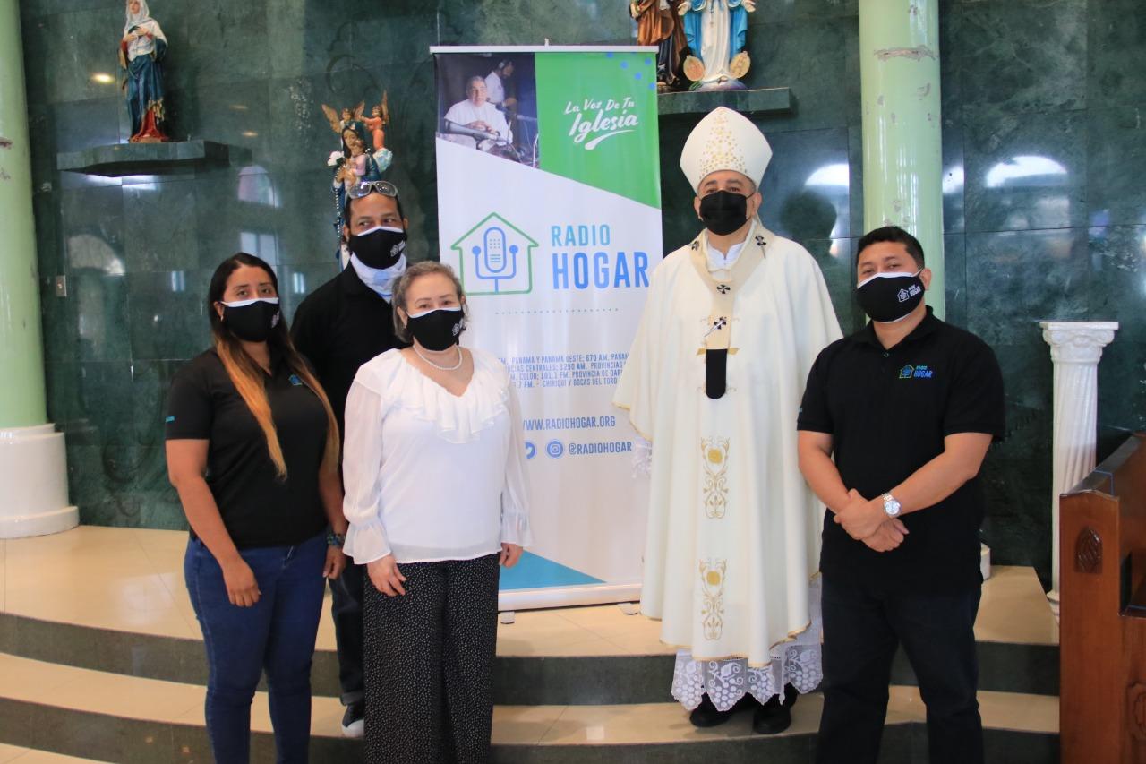 66años de Aniversario de Radio Hogar, emisora católica que está entre las más antiguas de Panamá