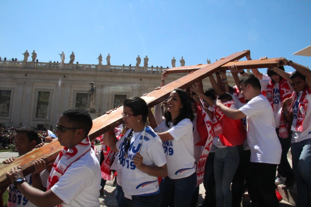 Este domingo 22 de noviembre Panamá entrega símbolos de la JMJ a Lisboa
