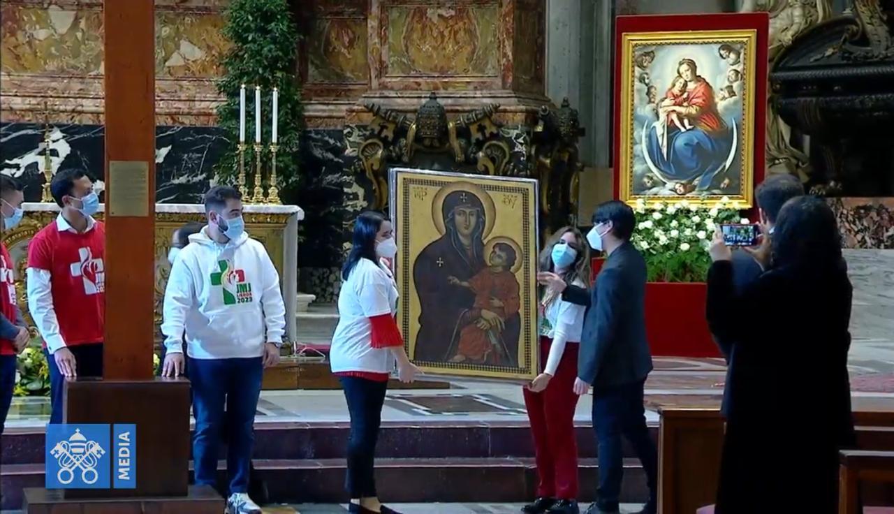 Papa anunció el traslado de la JMJ diocesana al Domingo de la fiesta de Cristo Rey