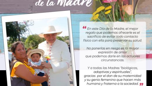 Mensaje en el Día de la Madre 2020