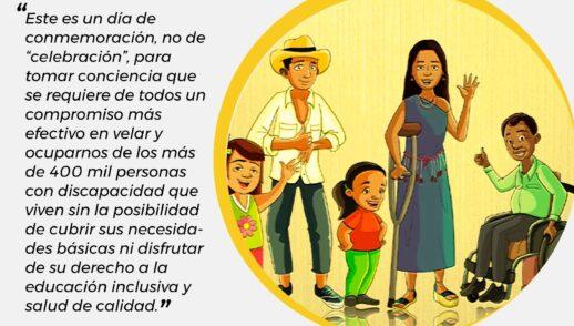 """Mensaje en el Día Internacional de la Discapacidad """"Una conmemoración para la Inclusión"""""""