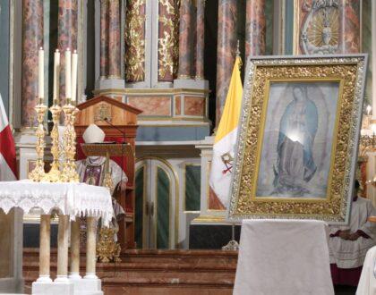 Panamá rindió homenaje a la Emperatriz de América Ntra. Sra. de Guadalupe