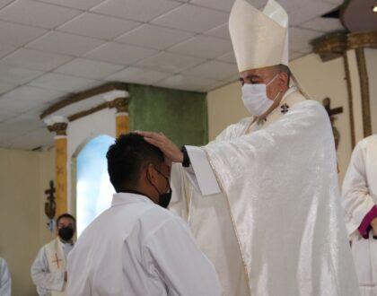 Comunidad de Cerro Batea, se alegra por la Ordenación Diaconal delSeminarista Erick Quirós