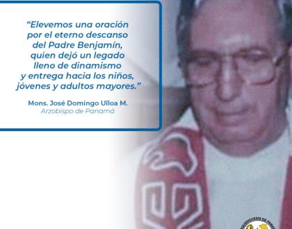 CONDOLENCIAS - Sacerdote Benjamín Gallegos Julián es llamado a la Casa del Padre Celestial