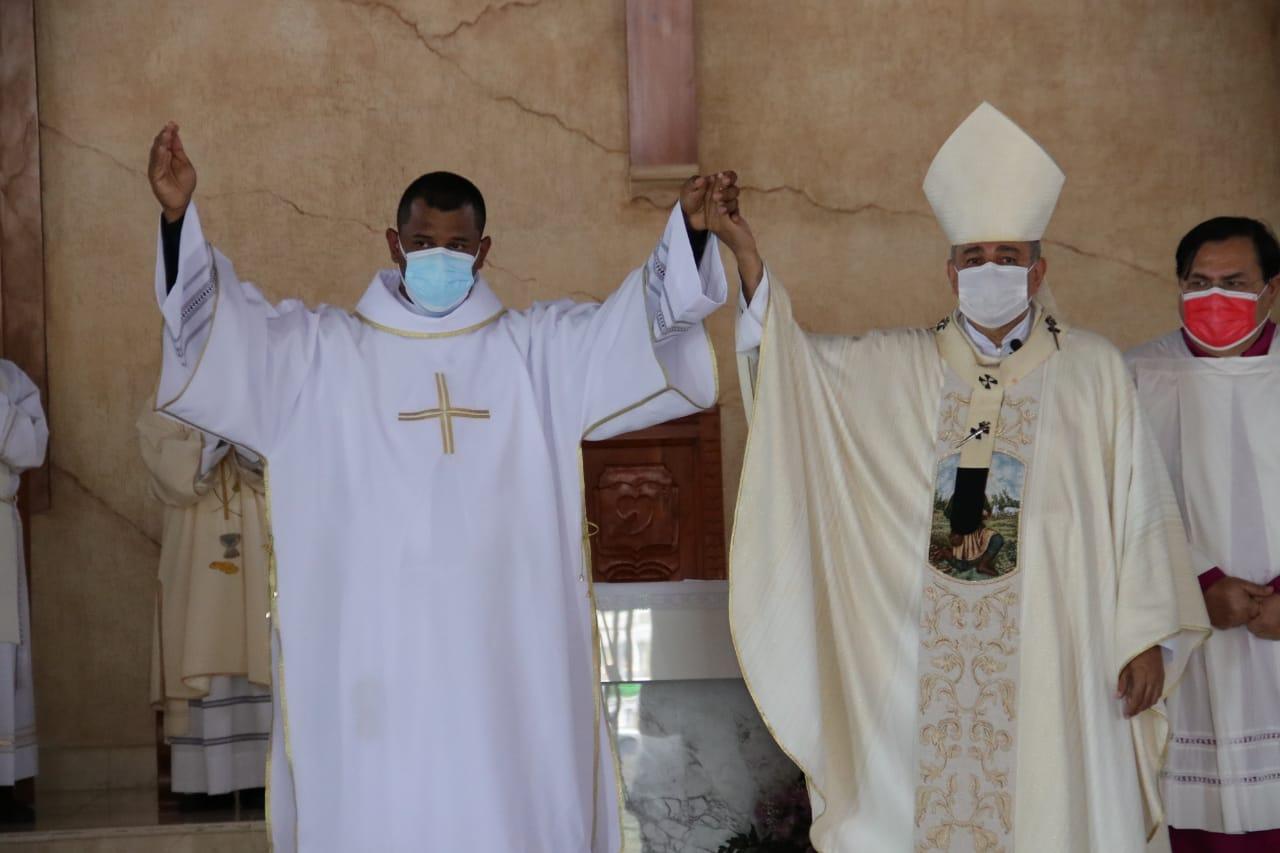 Comunidad de Capira se regocija por la Ordenación Diaconal del joven Miguel Sánchez
