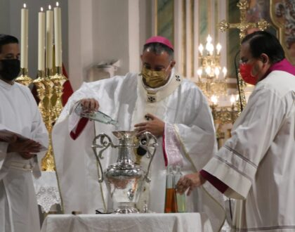 Arquidiócesis realizó su Misa Crismal