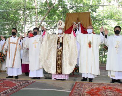 """""""Dios vuelve a mirarnos con ojos de benevolencia, con la ordenación diaconal de cuatro hermanos coreanos"""", Mons.Ulloa"""