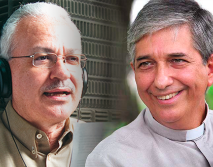 Gratitud a los sacerdotes Villarreal y Verar por el servicio pastoral en medios católicos