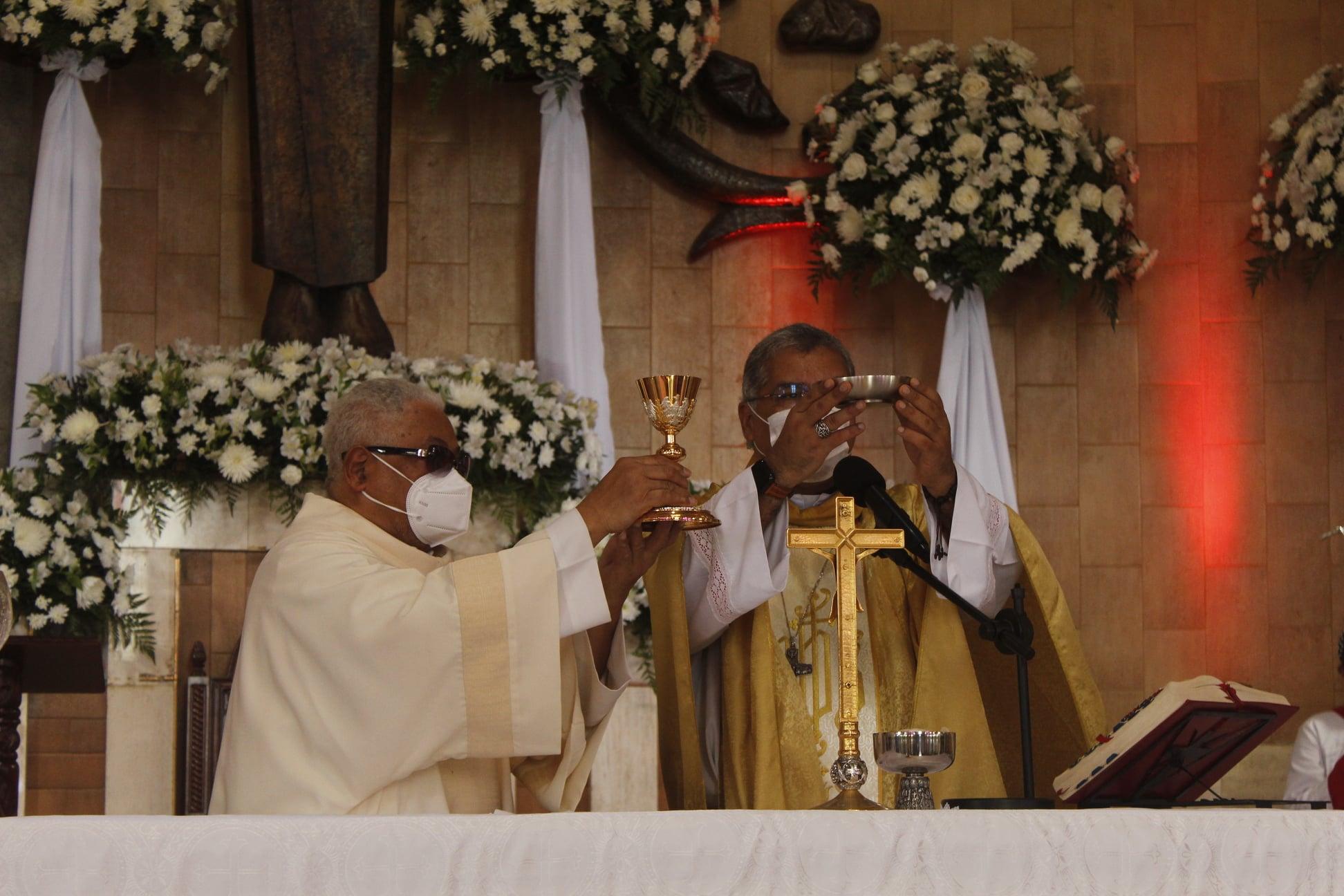 Feligreses de Monagrillo celebraron los 111 años    de fe y devoción a San Miguel Arcángel